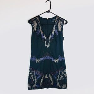 French Connection Beaded Dress E19